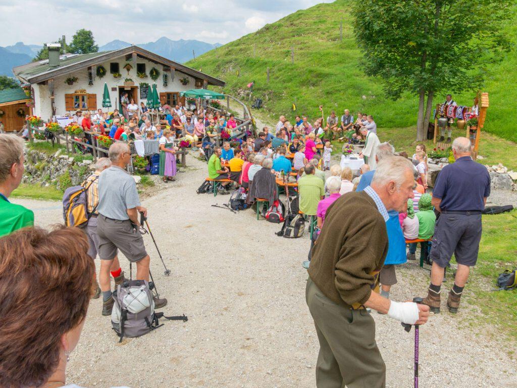 Bergmesse auf der Rechenbergalm